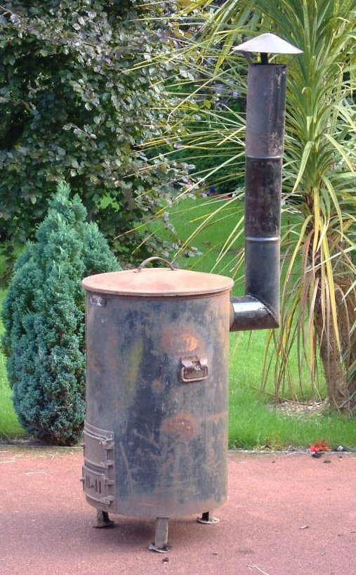 Bill Curtis's Soyer Stove