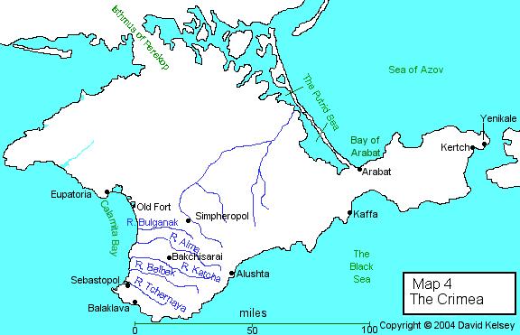 Crimean Texts - Maps The Crimea